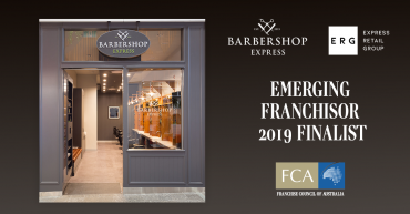 BARBERSHOP EXPRESS NAMED FINALIST IN FCA EXCELLENCE IN FRANCHISING AWARDS 2019
